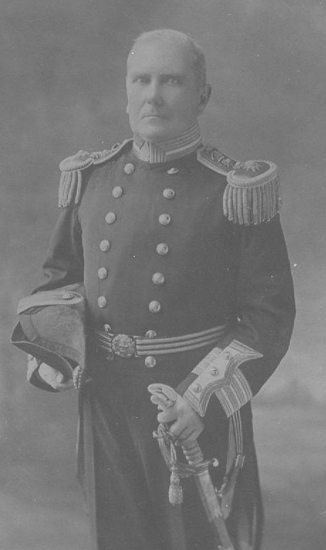 Personalities related to Richard Clow: Sir George J. Clow, Capt. R.N., C.B. (1853 - 192?)