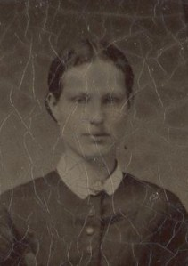 Mary Bingham Clow enlarged about 1870 wedding 001