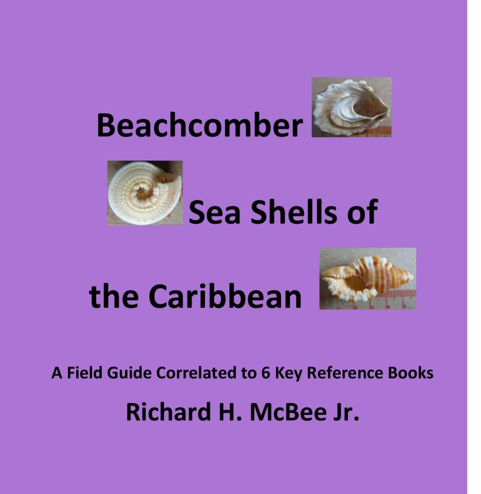 Beachcomber Sea Shells of the Caribbean - the Proof book  is on my table!