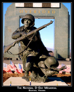 D-Day memorial, Beford, VA