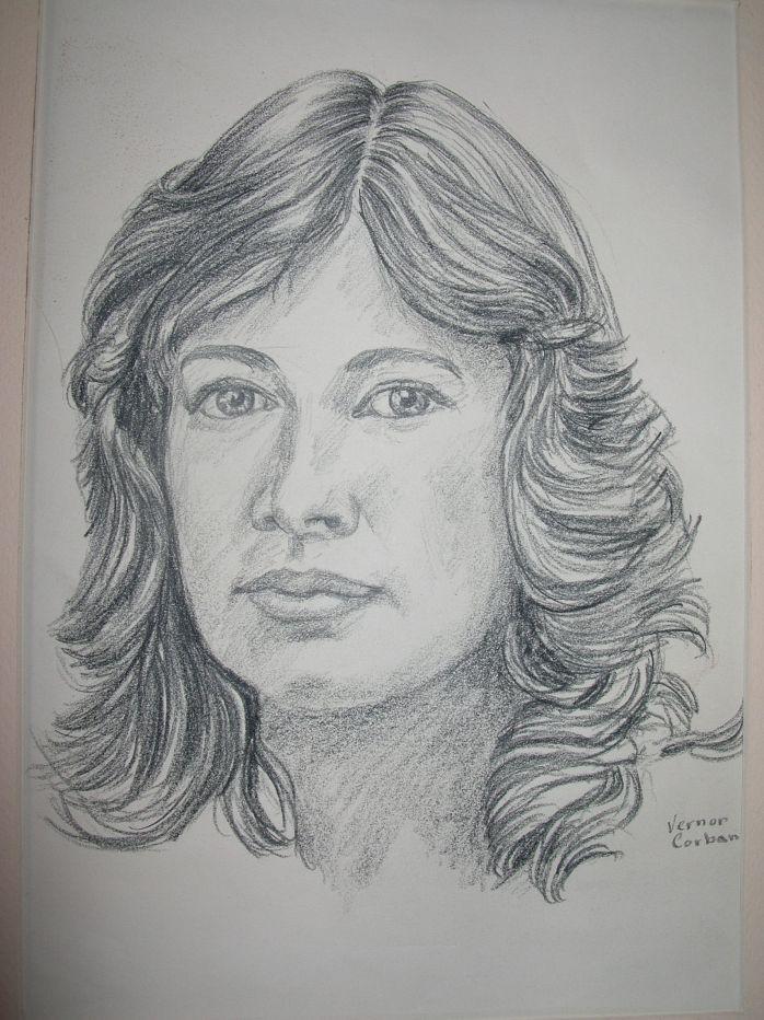 Who Was the Model For this Vernon Corban Original Sketch?
