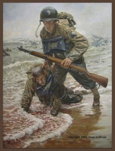 The 116th on Omaha Beach by K. Sean Sullivan
